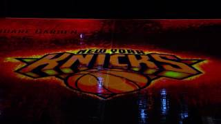 Knicks Opening Night Introductions