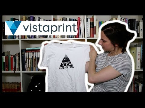 c809988c Vistaprint Custom T-Shirt Review | ToonStyle - YouTube