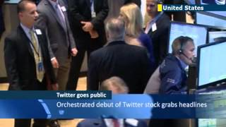 Twitter IPO Buzz: NYSE launch of social media messaging service hailed as a big success