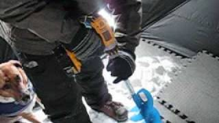 Repeat youtube video 18V Dewalt XRP Ice Auger conversion