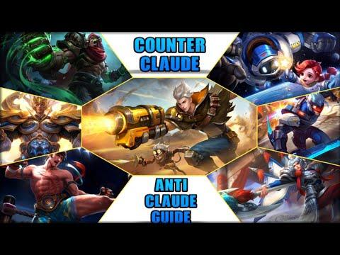 COUNTER THE META | ANTI - CLAUDE GUIDE | MOBILE LEGENDS BANG BANG thumbnail