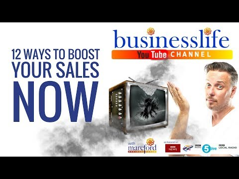 12 Ways to Boost Your Sales Now!