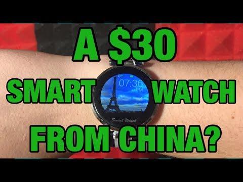 "$30 SMART WATCH?  ""Fantime i9 Smartwatch Review"""