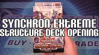 Yugioh Synchron Extreme Structure Deck TCG Opening - New Stardust Warrior