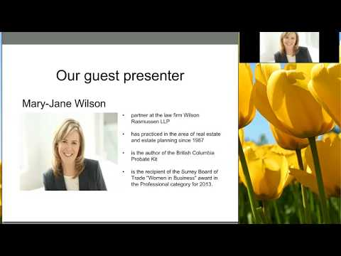 Wills & Estate Planning Webinar