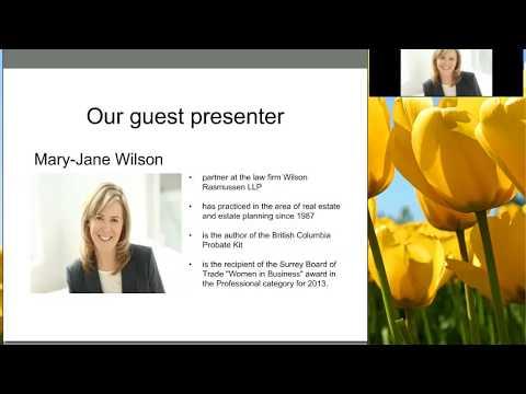 Wills & Estate Planning Webinar