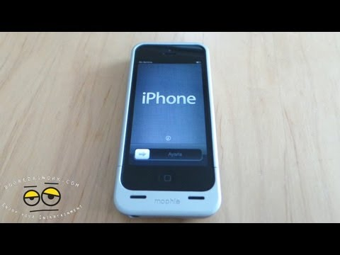 sports shoes 81e07 d1e9c Mophie juice pack helium iPhone 5 Review