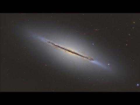 Веретено – потерянная галактика в Драконе