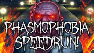 Phasmophobia Speedrun on the NEW Update! - [LVL 5315]