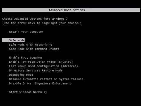 How To Enable Legacy Advanced Boot Option Menu In Windows 10