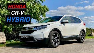 homepage tile video photo for 2020 Honda CR-V Hybrid SR Review: The Diesel Alternative? - Inside Lane
