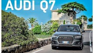 Тест-драйв Audi Q7    журнал Quattroruote