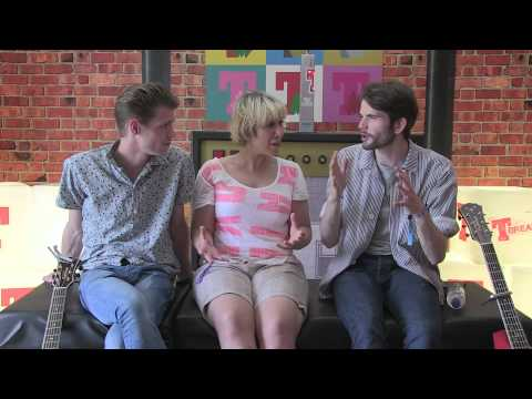 T in the Park 2014 - Hudson Taylor interview