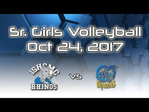 Sr. Girls Volleyball ISHCMC vs SSIS Oct 24, 2017