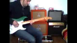 '89 Fender Eric Clapton Signature Stratocaster Candy Green - Backing Track Playalong