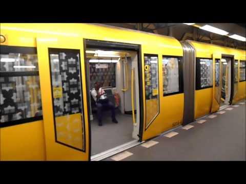 U-Bahn Berlin - U-Bahnhof Rohrdamm U7