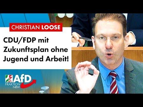 Schwarzgelb gibt Ruhrgebiet keine Chance – Christian Loose (AfD)