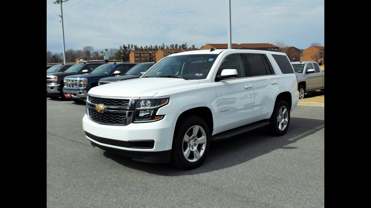2015 chevy tahoe lt 4x4 start up full tour and review youtube. Black Bedroom Furniture Sets. Home Design Ideas