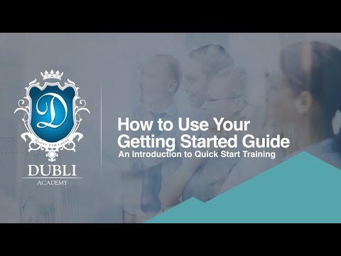 Dubli Academy Training System Level 1 - 1 Quick Start Guide