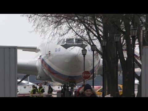 Moscow: Plane carrying Russian diplomats expelled from US lands