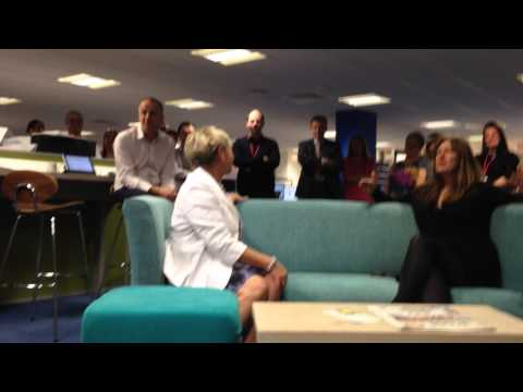 Ann & Claire's leaving speech, 03/10/14 09.55am Nottingham Post.