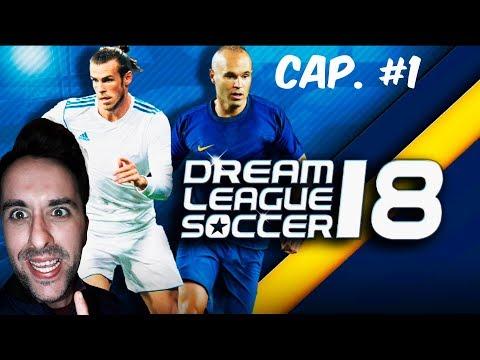 COMIENZA LA AVENTURA!!! ¿BORRO MI ANTERIOR EQUIPO? OMG!!! | Dream League Soccer 2018 Cap. #1