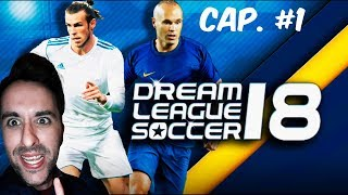 Hola! nuevo gameplay de dream league soccer 2018, empezamos nueva s...