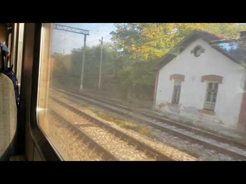 Vratsa-Sofia with train through the beautiful Iskar revine- Part1 | Враца-София с влак през дефилето
