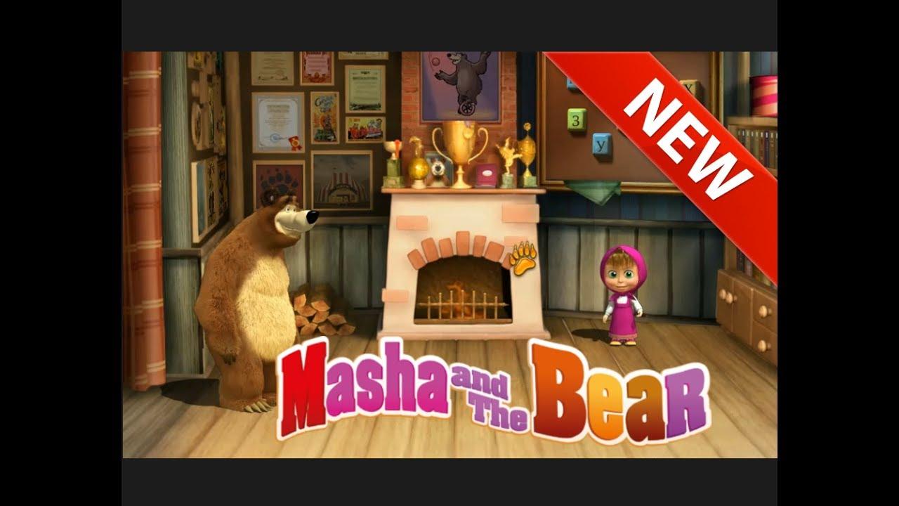 Masha and bear pilot (flying) apk download free adventure game.