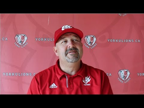 York Lions   Post-game press conference with Warren Craney (Sept. 23 vs. Toronto)