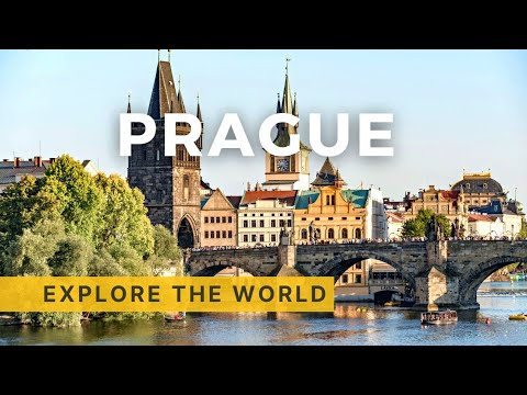 Walking in Prague, Czech Republic