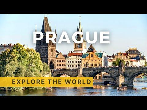 Walking in Prague, Czech Republic