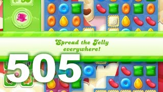 Candy Crush Jelly Saga Level 505 (No boosters)