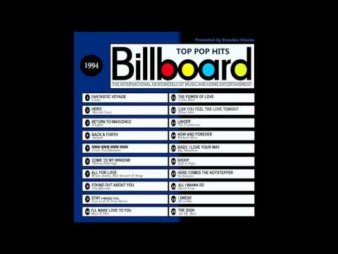 Billboard Top Pop Hits - 1994