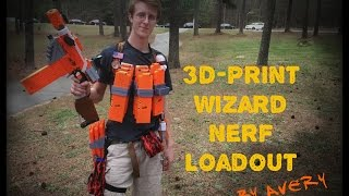nerf loadouts the 3d printer heavy class ft avery