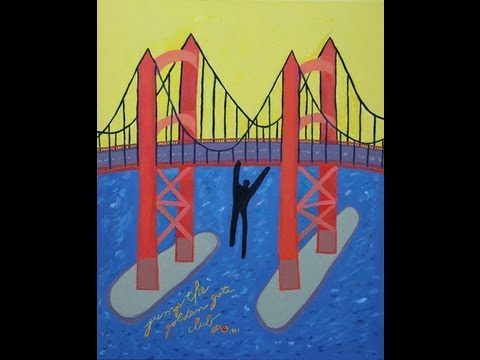 Golden Gate Bridge jumper painting pulled from Sausalito Art Festival 'American Icon' contest