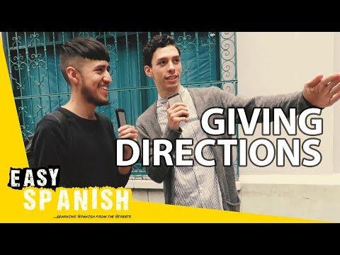 Tiếng Tây Ban Nha bài 9: Hỏi đường
