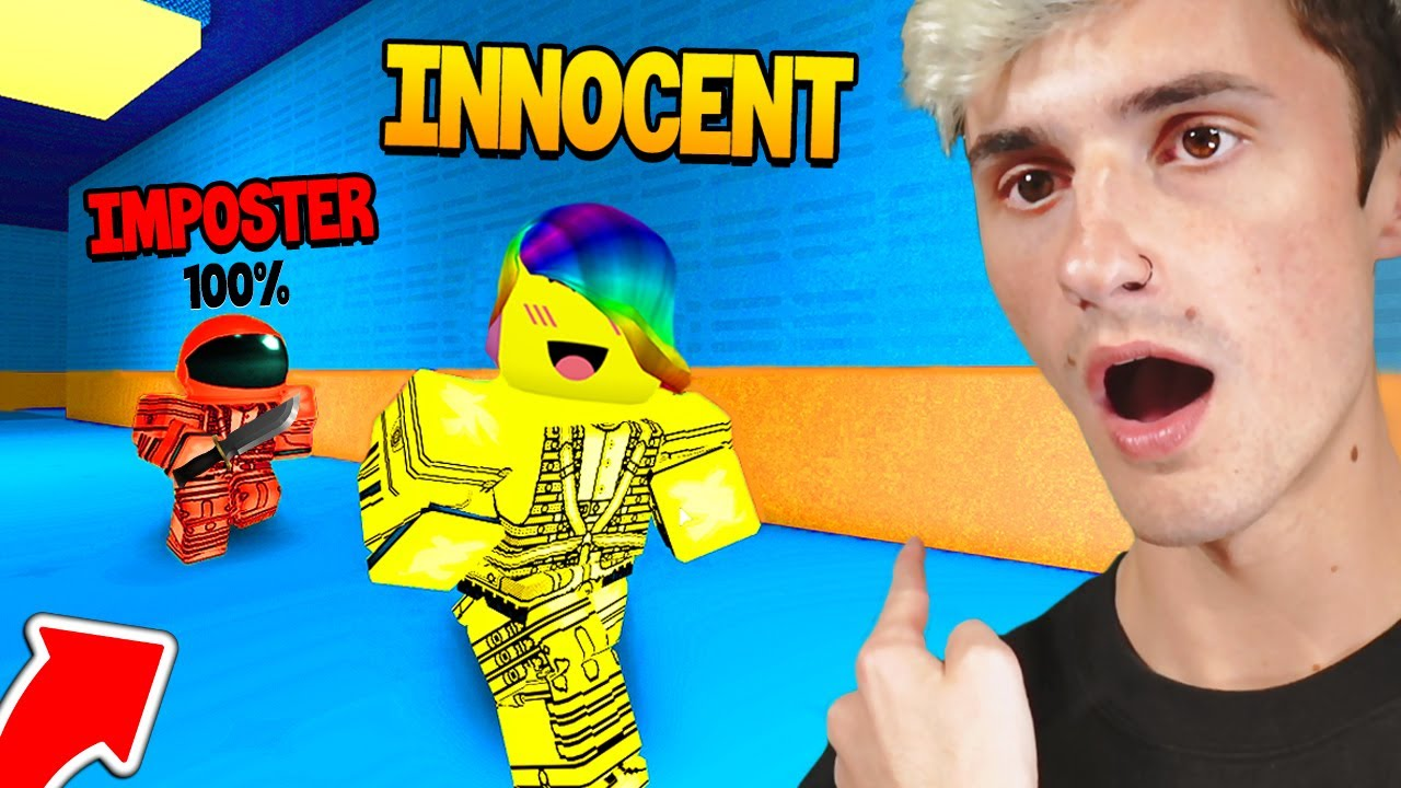 My Best Friend was IMPOSTER 100% 🔪 😡 (Roblox)