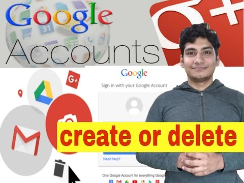 How to recovery your deleted google account.