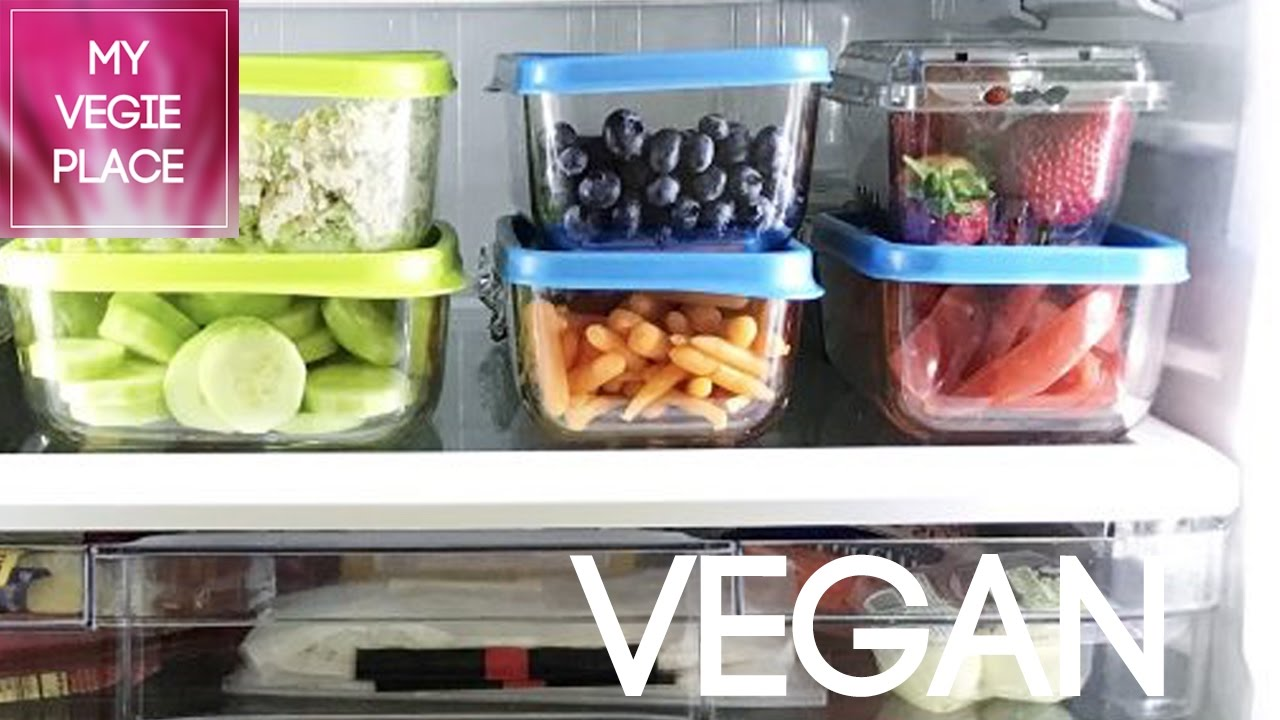 preparaci n comida sana y vegana para toda la semana