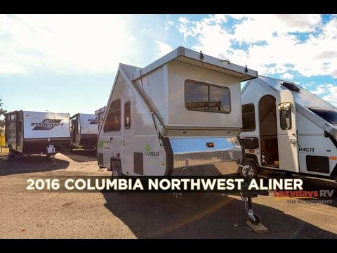 2017 Columbia Northwest Aliner Video Tour from Lazydays
