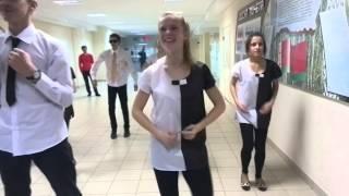 Танец на Новый Год в Озерцовской СШ