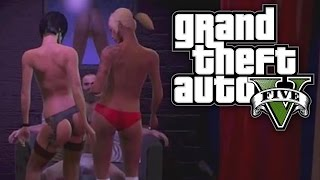 GTA 5 THUG LIFE #3 - STRIP CLUB STRIPPERS!