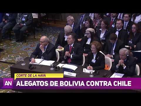 Especial Ahora Noticias - Alegatos de Bolivia contra Chile en La Haya