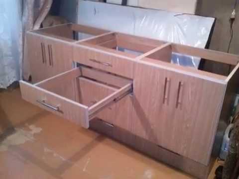видео: Мебель своими руками. Оригинальные тумбы для кухни