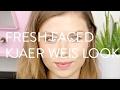 Ein Fresh-Faced Full Kjaer Weis Look // Organisches Makeup-Tutorial