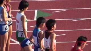 2011山口国体 陸上少年女子B1500メートル決勝 福田有以 優勝 720p 福田有以 検索動画 29