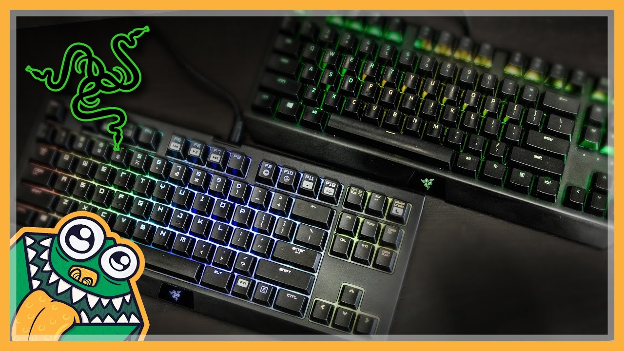 a0fba3a2f4f Razer BlackWidow X Tournament Edition vs BlackWidow TE - Unboxing and  Comparison