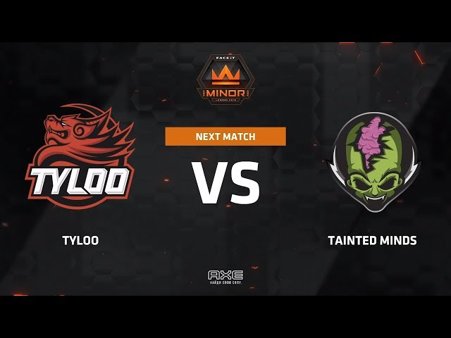 Tyloo vs Tainted Minds ( highlights ) Asia Minor Championship - London 2018
