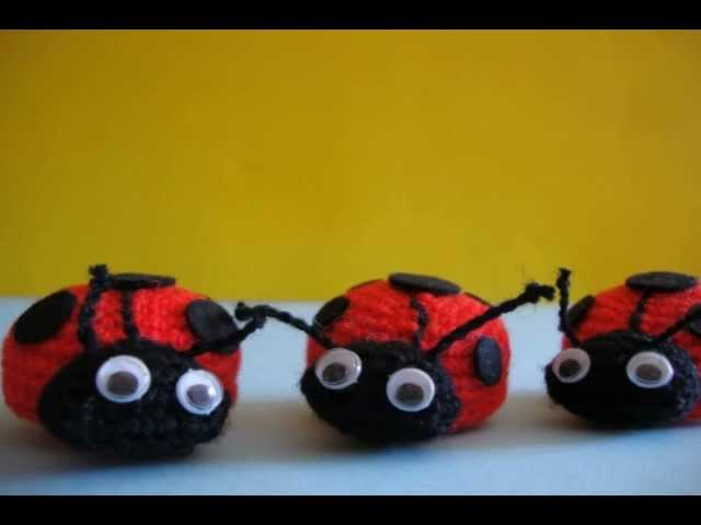 Tutorial Coccinella Uncinetto -Amigurumi Ladybug Crochet ... | 480x640